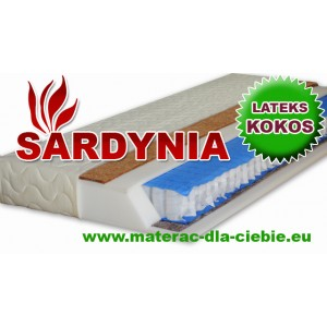 Materac Kieszeniowy SARDYNIA - KOKOS LATEKS