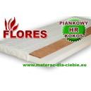 Materac Piankowy z Kokosem Flores wys. 16cm